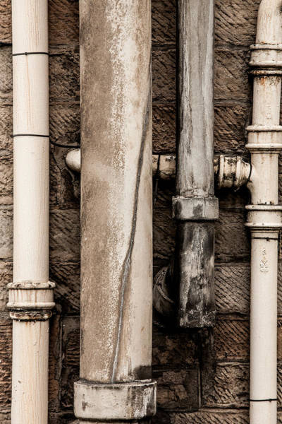 Hakon Photograph - Down The Drains by Hakon Soreide