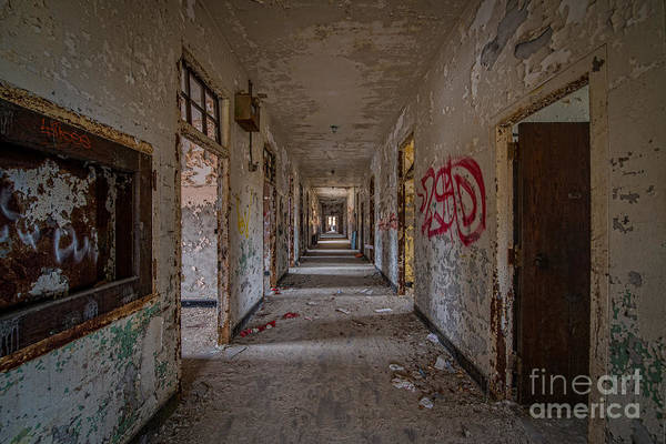 Nikon D800 Wall Art - Photograph - Down The Hall by Michael Ver Sprill