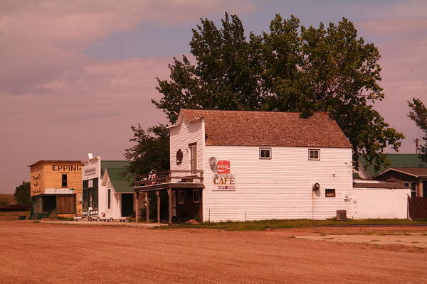 Epping Wall Art - Photograph - Down Town Epping North Dakota by Jeff Swan