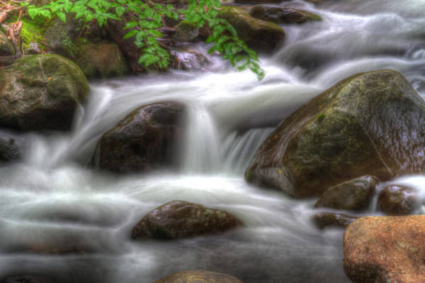 Photograph - Downstream Flow by Barry Jones