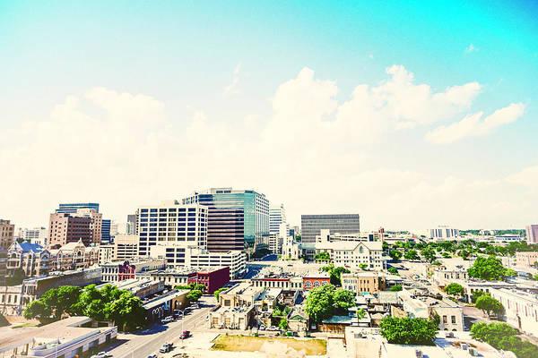 Small Town Usa Photograph - Downtown Austin, Usa by Catlane