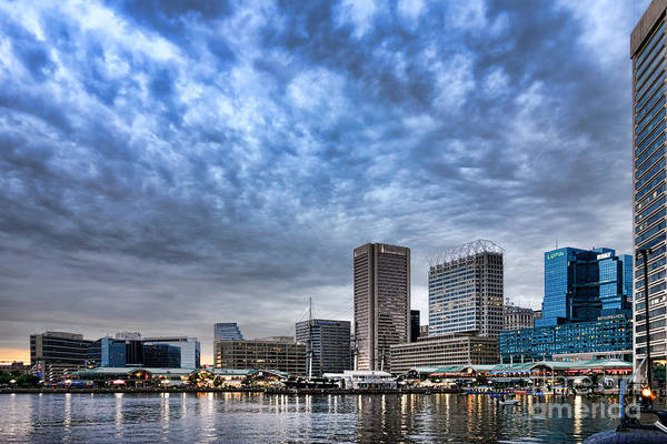Baltimore Photograph - Downtown Baltimore by Olivier Le Queinec