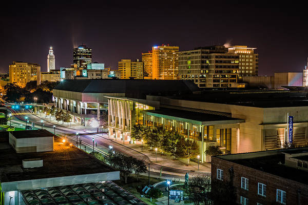 Photograph - Downtown Baton Rouge by Andy Crawford