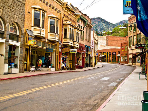 Photograph - Downtown Bisbee by Kelly Holm