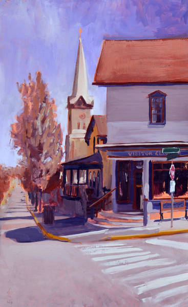 Downtown Cedarburg Art Print by Anthony Sell
