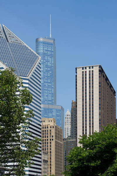 Photograph - Downtown Chicago by Gary Eason