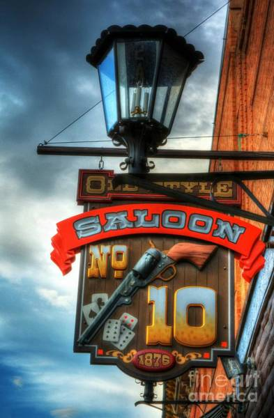 Photograph - Downtown Deadwood 3 by Mel Steinhauer