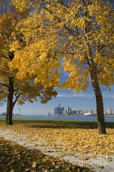 Photograph - Downtown Detroit by Jim West