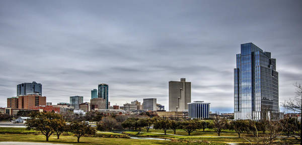 Photograph - Downtown Fort Worth Trinity Trail by Jonathan Davison
