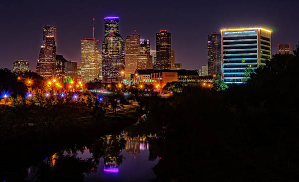Photograph - Downtown Houston by Andy Crawford