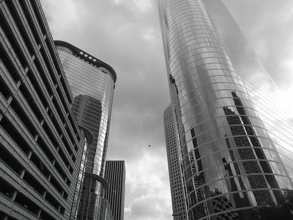 Photograph - Downtown Houston by Dan Sproul