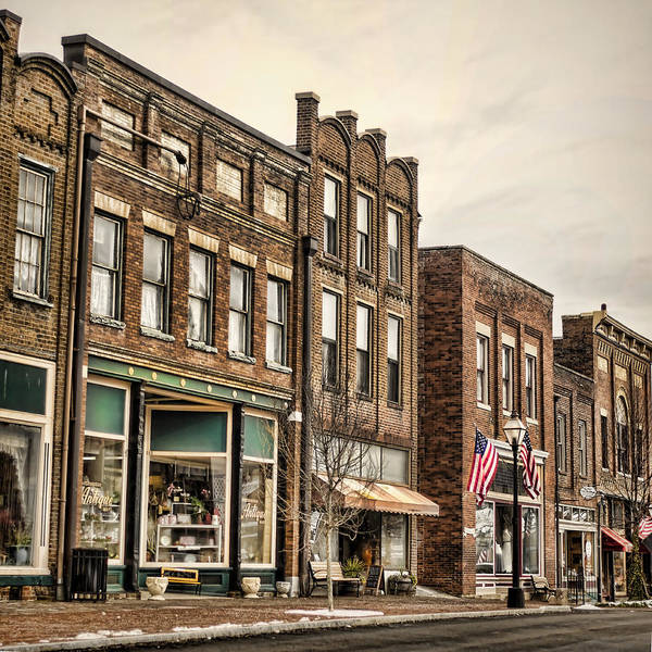 Photograph - Downtown Jonesborough by Heather Applegate