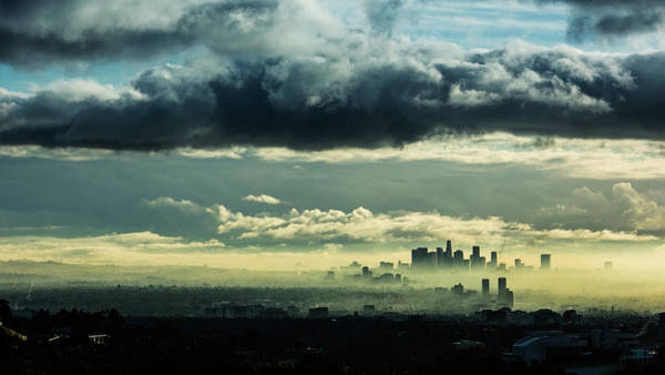 Cityscapes Photograph - Downtown La by Sungjin Ahn Photography