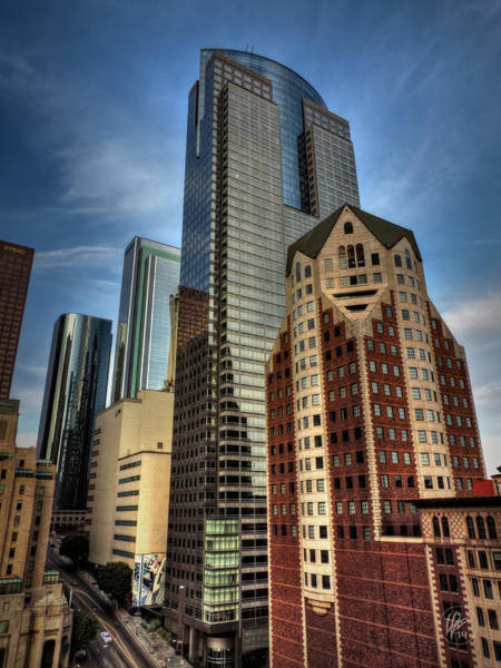 Photograph - Downtown Los Angeles 003 by Lance Vaughn