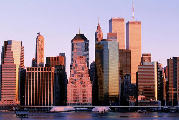 September 11 Attacks Photograph - Downtown Manhattan by Hans Sautter