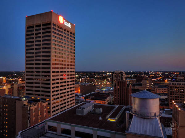 Photograph - Downtown Memphis Twilight 001 by Lance Vaughn