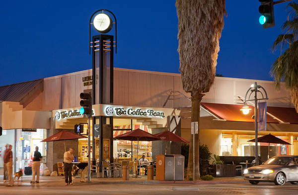 Photograph - Downtown Palm Springs by Matthew Bamberg