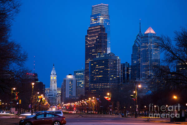 Photograph - Downtown Philladelphia by Rima Biswas