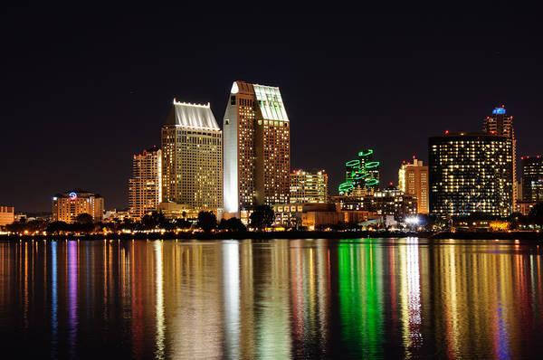 Digital Art - Downtown San Diego by Gandz Photography