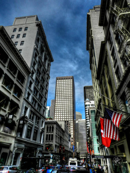 Photograph - Downtown San Francisco 001 by Lance Vaughn