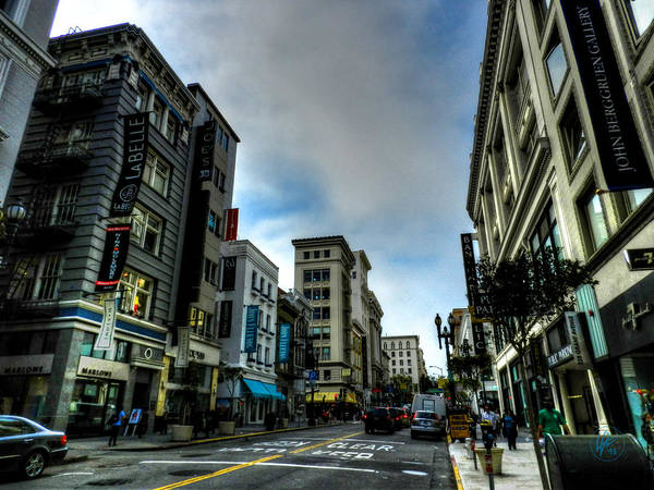 Photograph - Downtown San Francisco 002 by Lance Vaughn
