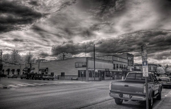 Photograph - Downtown Sandpoint In Infrared 1 by Lee Santa