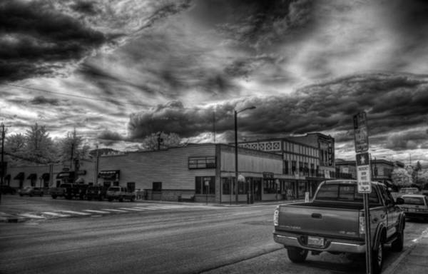 Photograph - Downtown Sandpoint In Infrared 2 by Lee Santa