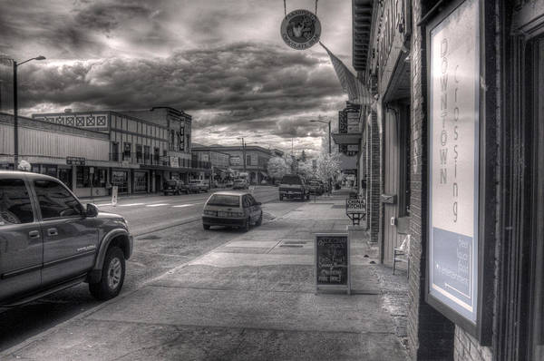 Photograph - Downtown Sandpoint In Infrared 3 by Lee Santa