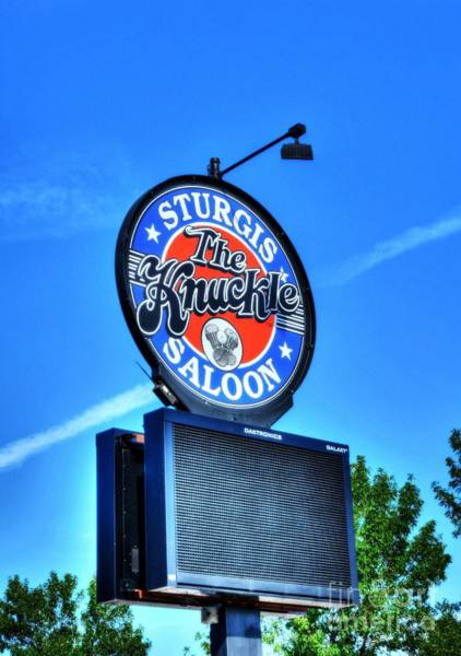 Photograph - Downtown Sturgis 6 by Mel Steinhauer