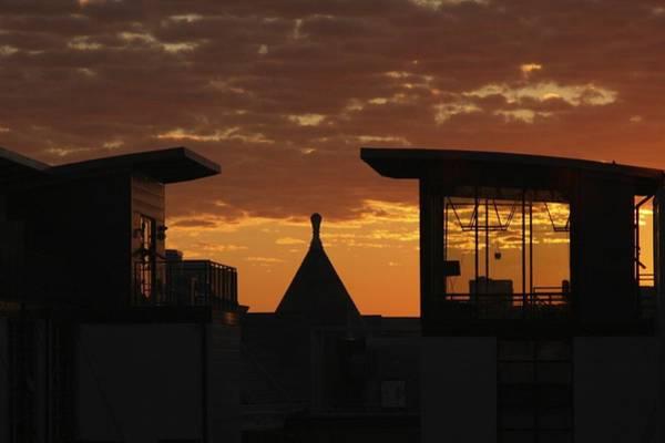 Thru Photograph - Downtown Sunrise by Stuart Litoff