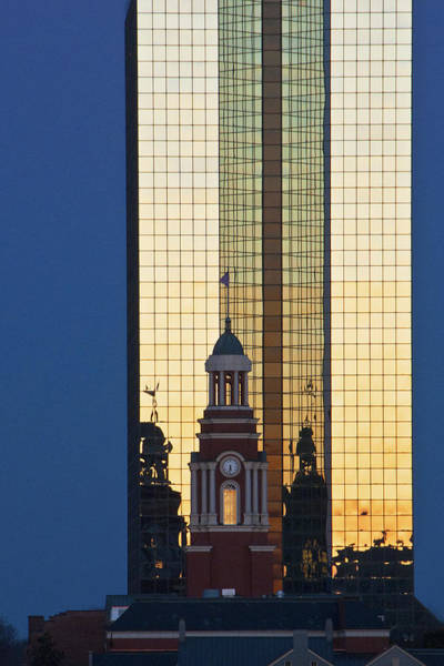 Photograph - Downtown Sunset by Carol Erikson