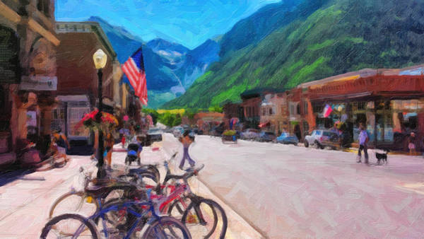 Downtown Telluride Art Print