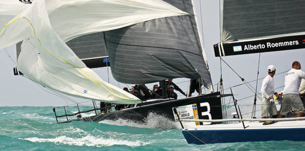 Photograph - Downwind Action by Steven Lapkin