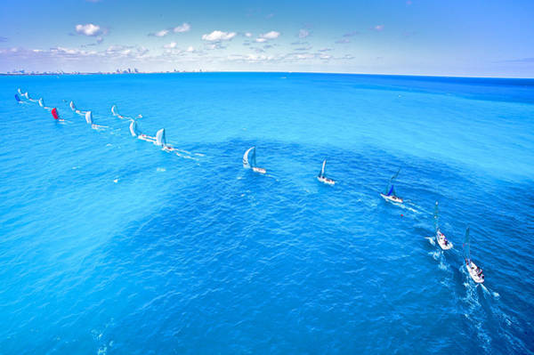 Photograph - Downwind For Miami by Steven Lapkin