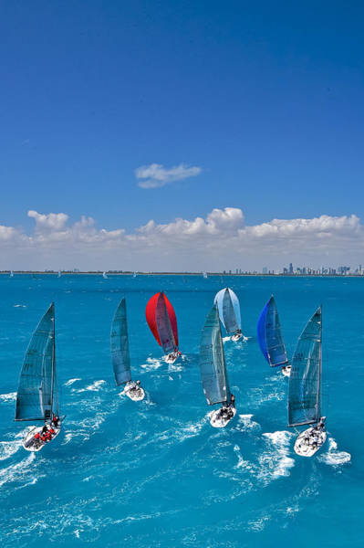 Photograph - Downwind Miami by Steven Lapkin