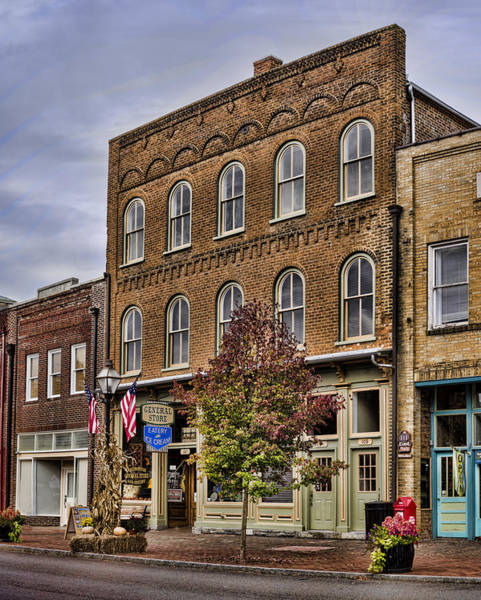 Photograph - Dowtown General Store by Heather Applegate