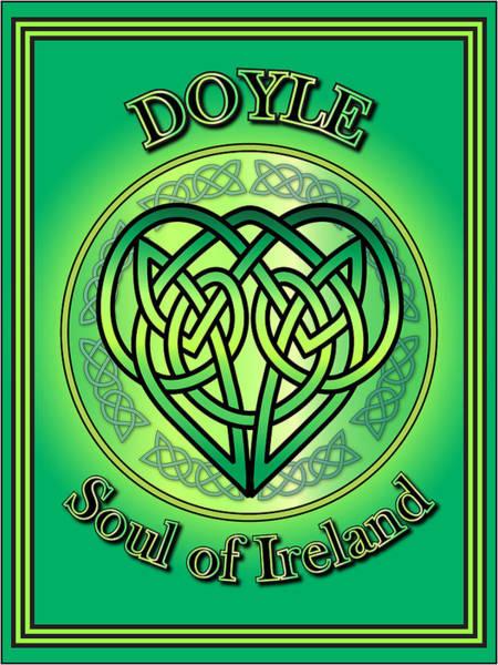 Wall Art - Digital Art - Doyle Soul Of Ireland by Ireland Calling