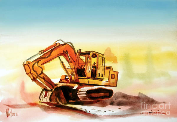 Painting - Dozer October by Kip DeVore
