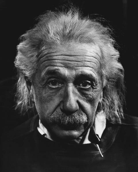 Wall Art - Photograph - Dr. Albert Einstein by Retro Images Archive