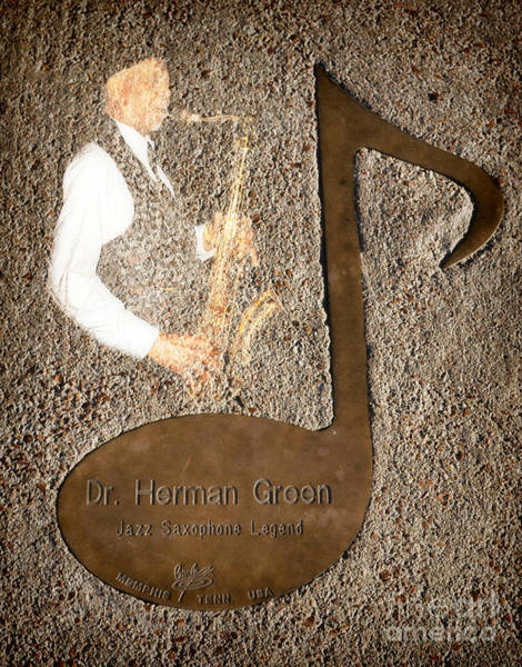 Photograph - Dr Herman Green Note by Donna Greene