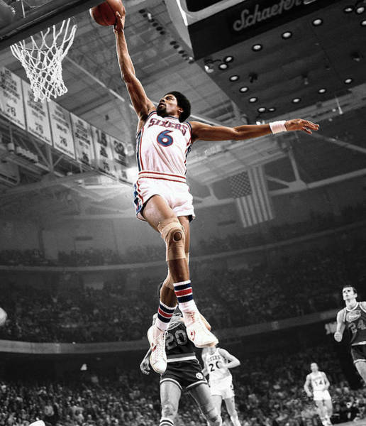 Jordan Wall Art - Photograph - Dr J by Brian Reaves
