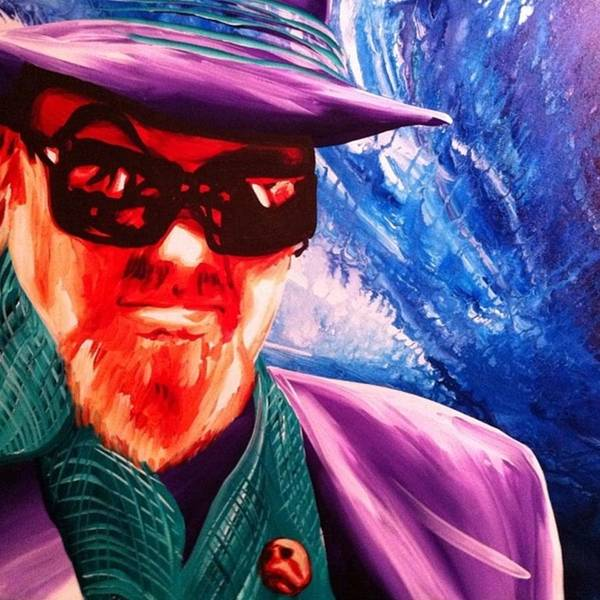 Jazz Wall Art - Photograph - Dr John Original Painting #jazz #drjohn by Ocean Clark