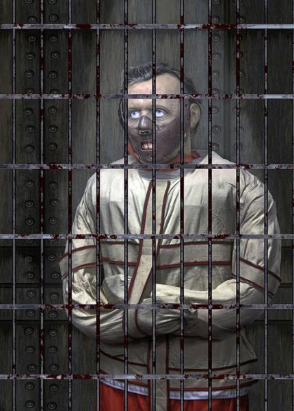 Wall Art - Digital Art - Dr. Lecter Restrained by Daniel Hagerman