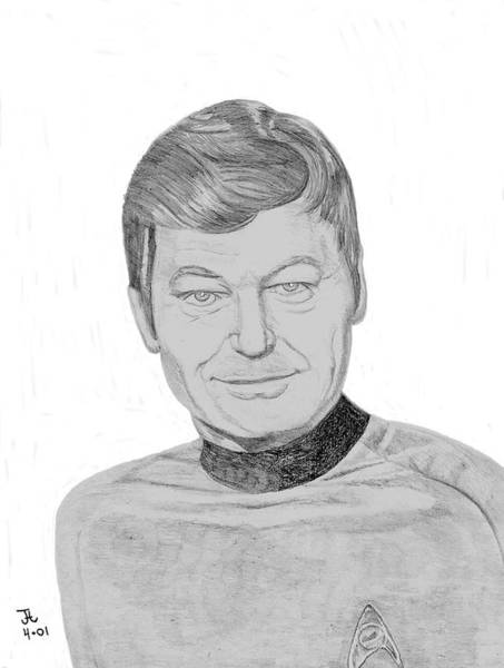 Digital Art - Dr. Leonard Mccoy by Thomas J Herring