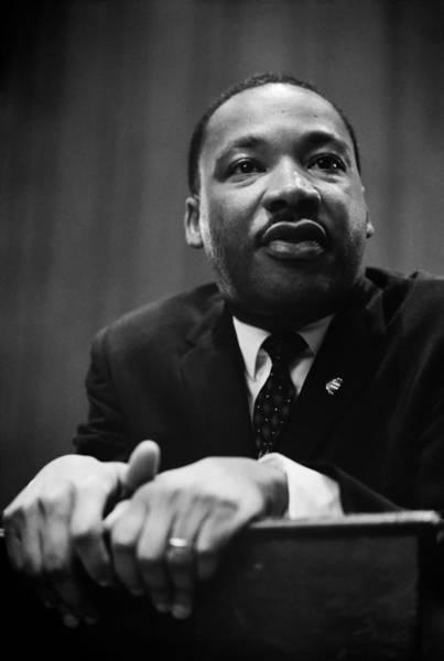 Luther Photograph - Dr Martin Luther King by Mountain Dreams