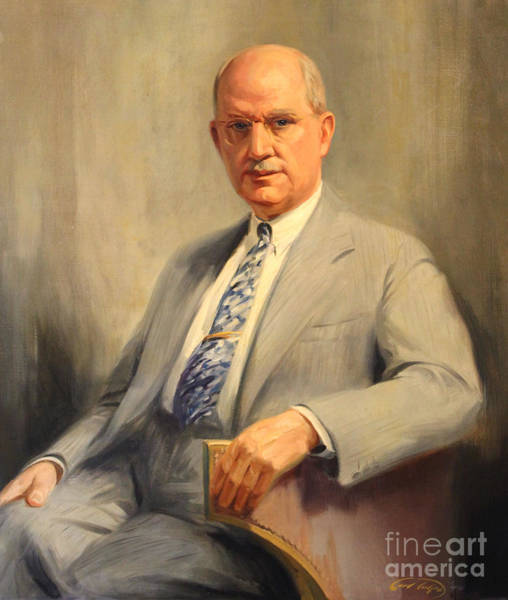 Painting - Dr Nelson M. Percy by Art By Tolpo Collection