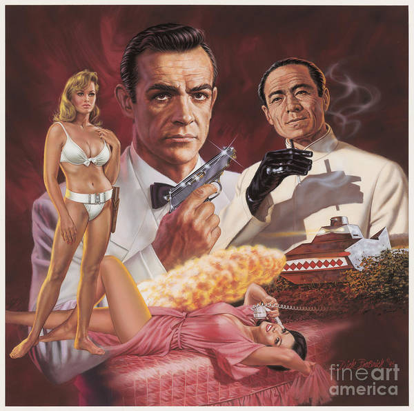Wall Art - Painting - Dr. No by Dick Bobnick