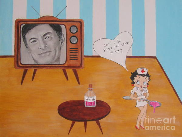 Wall Art - Painting - Dr. Oz by Jeepee Aero