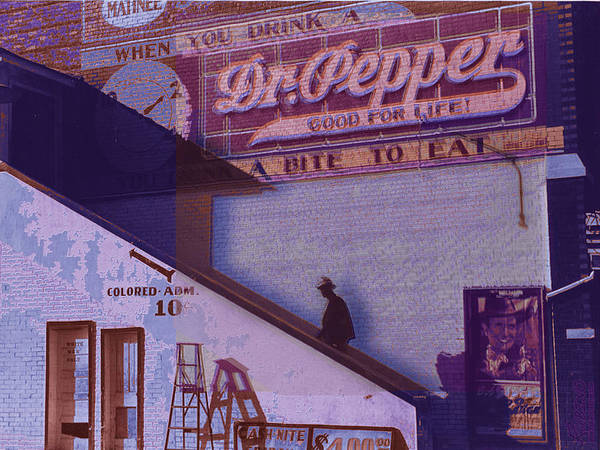 Painting - Dr Pepper Blues The Way It Was by Tony Rubino