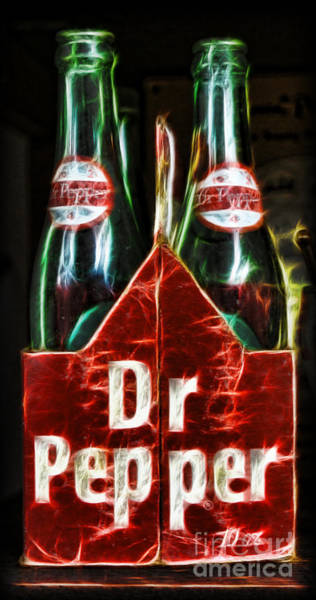 Wall Art - Photograph - Dr Pepper by Lee Dos Santos